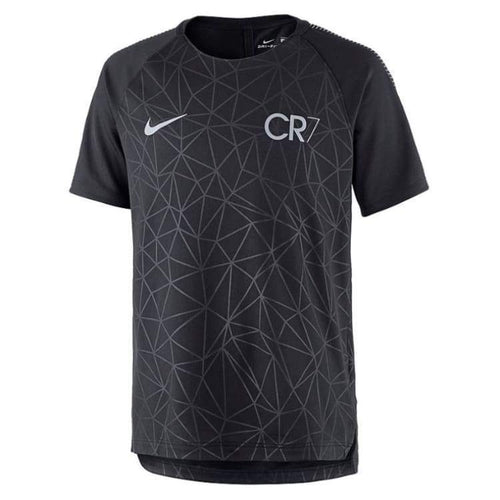 Jerseys / Soccer: Nike Cr7 Boys Dry Sqd Top Gx 882987-010 - Nike / Kids: Xs / Black / Black Clothing Cr7 Football Jerseys |