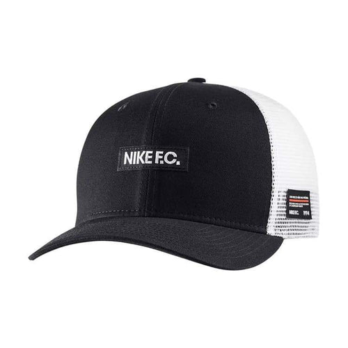 Headwear / Caps: Nike F.c. Clc99 Cap Blk Aj6511-011 - Nike / Black / Accessories Black Caps Football Head & Neck Wear |