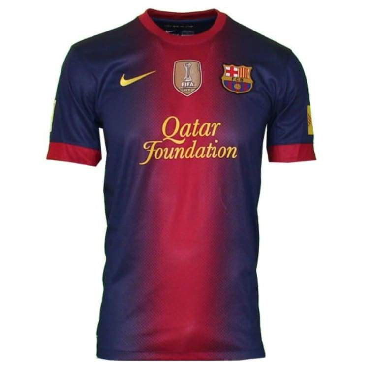 Jerseys / Soccer: Nike Fc Barcelona 12/13 (H) Ss 478323-410 - Nike / Xl / Berry / 1213 Barcelona Berry Clothing Home Kit |
