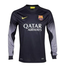 Jerseys / Soccer: Nike Fc Barcelona 13/14 (H) L/s Gk 547953-012 - S / Black / Nike / 1314 Barcelona Black Clothing Football |