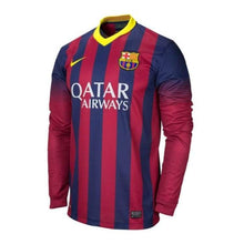 Jerseys / Soccer: Nike Fc Barcelona 13/14 (H) L/s - Nike / S / Blue / Red / 1314 Barcelona Blue / Red Clothing Home Kit |
