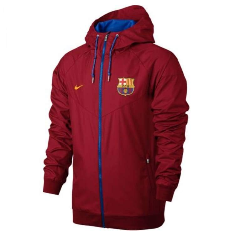 cortina teatro Cinco  Nike FC Barcelona 16/17 NSW WR Woven Authentic Jacket RD 810302-687