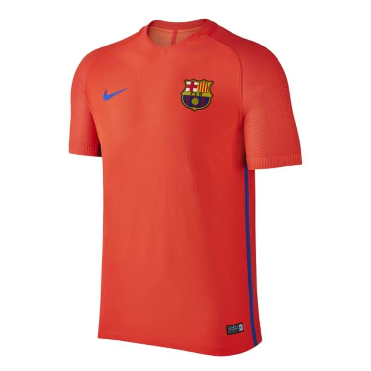 Jerseys / Soccer: Nike Fc Barcelona 16/17 Strike Top S/s 829976-672 - Nike / S / Orange / 1617 Barcelona Clothing Football Jerseys |