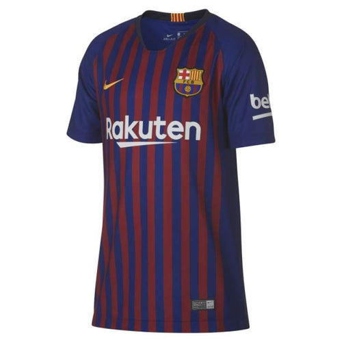 Jerseys / Soccer: Nike Fc Barcelona 18/19 (H) Kids Jersey 894458-456 - Nike / Kids: Xs / Blue / 1819 Barcelona Blue Clothing Football |