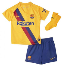 Jerseys / Soccer: Nike FC Barcelona 19/20 (A) Baby S/S Jersey AO3071-728 - Nike / Month: 3-6 / Yellow / 1920 Away Kit BARCELONA Clothing