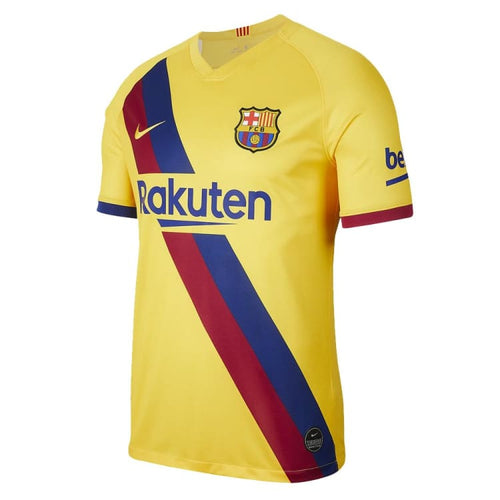 Jerseys / Soccer: Nike FC Barcelona 19/20 (A) S/S Jersey AJ5531-728 - Nike / S / Yellow / 1920 Away Kit BARCELONA Clothing Football |