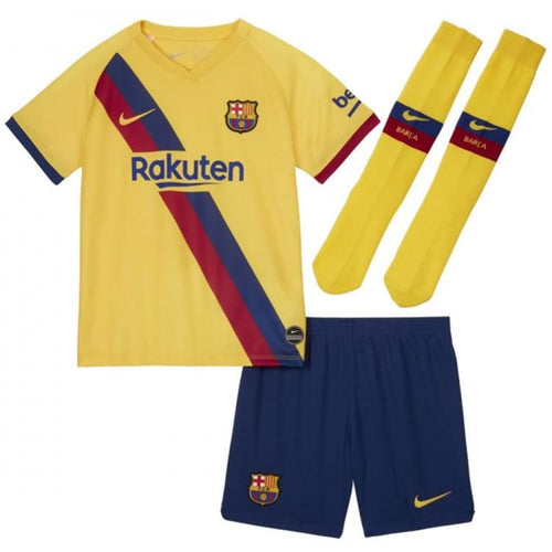 Jerseys / Soccer: Nike FC Barcelona 19/20 (A) Youth S/S Jersey AO3051-728 - Nike / Kids: XS / Yellow / 1920 Away Kit BARCELONA Clothing