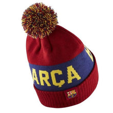 Headwear / Beanies: Nike FC Barcelona 19/20 POM Beanie CK1734-620 - Nike / OSFA / RED / 1920, Accessories, BARCELONA, Beanies, Football |