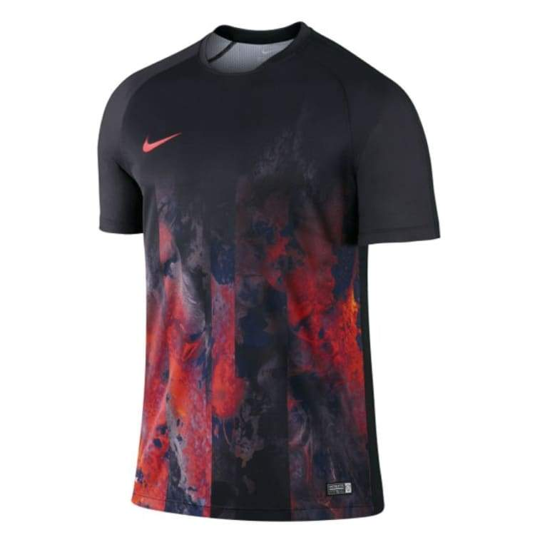 Jerseys / Soccer: Nike Flash Cr7 Training Top Bk 714965-010 - Nike / S / Black/red / Black/red Cr7 Football Jerseys Jerseys / Soccer |
