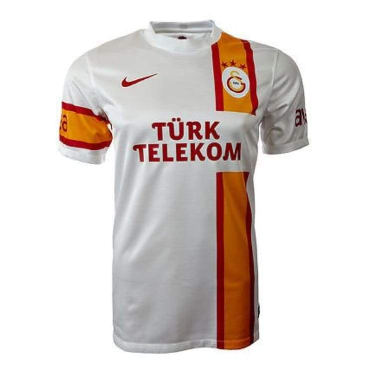 Jerseys / Soccer: Nike Galatasaray 12/13 (A) S/s 479899-105 - Nike / L / White / Clothing Football Galatasaray Jerseys Jerseys / Soccer |