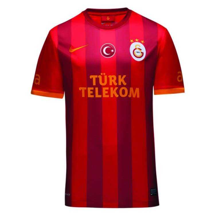 Jerseys / Soccer: Nike Galatasaray 13/14 (3Rd) S/s 544886-604 - Nike / M / Red / Clothing Football Galatasaray Jerseys Jerseys / Soccer |
