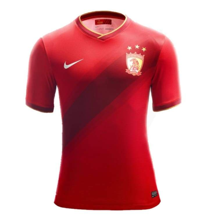 Jerseys / Soccer: Nike Guangzhou Evergrande 14/15 Home S/s Jersey 628638-611 - Nike / S / Red / 1415 Clothing Football Guangzhou Evergrande