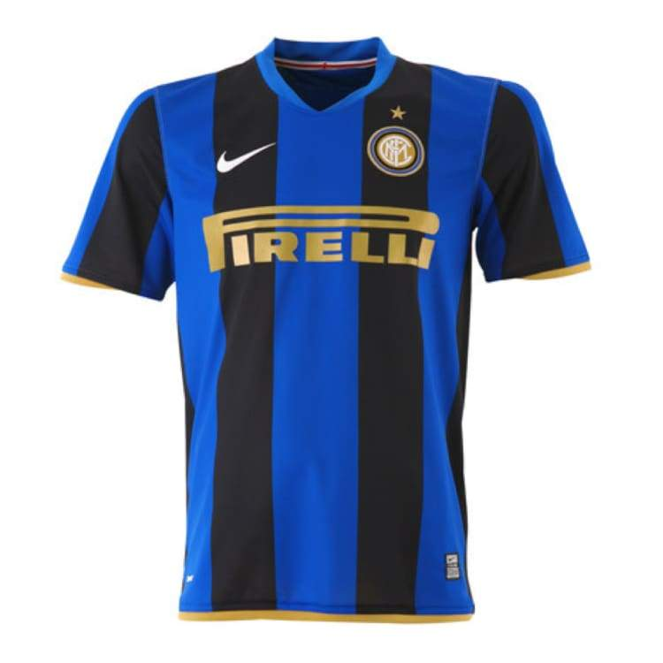 Jerseys / Soccer: Nike Inter Milan 08/09 (H) S/s - Nike / Xl / Blue / 0809 Blue Clothing Home Kit Inter Milan | Ochk-Sfalo-Ssita02080H-Xl