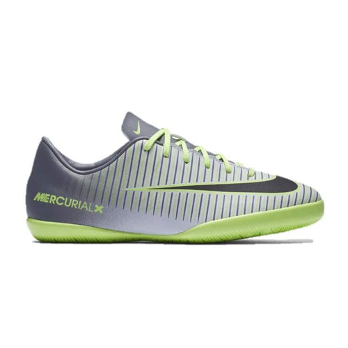 Shoes / Soccer: Nike Jr Mercurialx Vapor Xi Ic Gry-Gre 831947-003 - Nike / Kids: 6Y / Grey / Football Footwear Grey Kids Land |