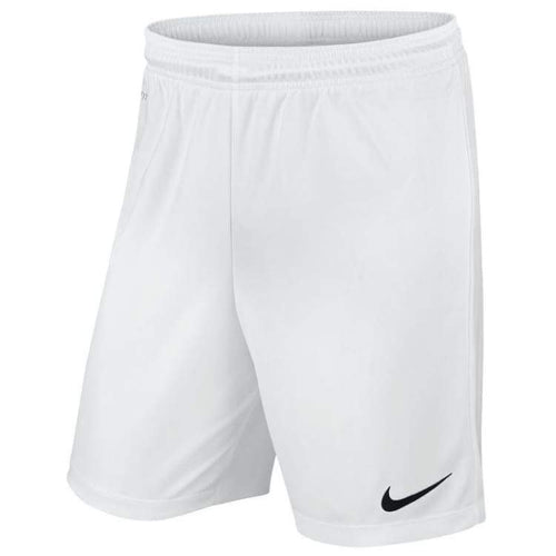 Shorts / Soccer: Nike Junior Park Ii Knit Shorts Wht 725988-100 - Nike / Kids: Xs / White / Clothing Football Kids Land Nike |