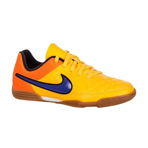 Shoes / Soccer: Nike Junior Tiempo Rio Ii Ic Oj 631526-858 - Nike / Age: 2 / Orange / Football Footwear Kids Land Nike |
