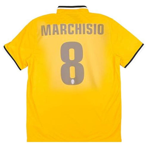Jerseys / Soccer: Nike Juventus 13/14 (A) S/S Jersey (#8 MARCHISIO) 533057-717 - Nike / L / Yellow / 1314, Away Kit, Clothing, Football,