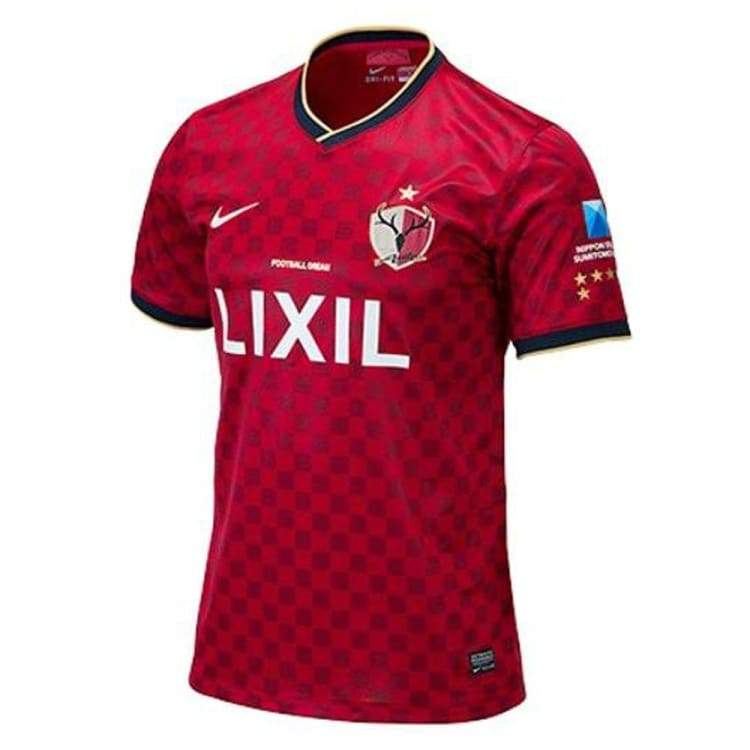 Jerseys / Soccer: Nike Kashima Antlers 14/15 (H) S/s 585517-648 - Nike / S / Red / 1415 Clothing Football Home Kit J-League |