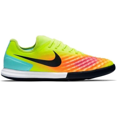 Shoes / Soccer: Nike Magistax Finale Ii Ic 844444-708 - Nike / Us: 7.5 / Volt/total Orange/pink Blast/black / Football Footwear Land Mens