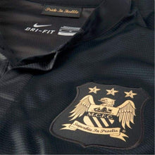 Jerseys / Soccer: Nike Manchester City 13/14 (A) S/s 574864-011 - 1314 Away Kit Black Clothing Football
