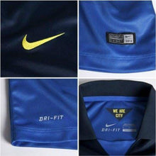 Jerseys / Soccer: Nike Manchester City 14/15 (A) S/s 611051-476 - 1415 Away Kit Blue Clothing Football