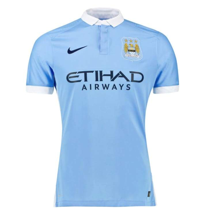 Jerseys / Soccer: Nike Manchester City 15/16 (H) Player S/s 658884-489 - Nike / S / Blue / 1516 Blue Clothing Football Home Kit |