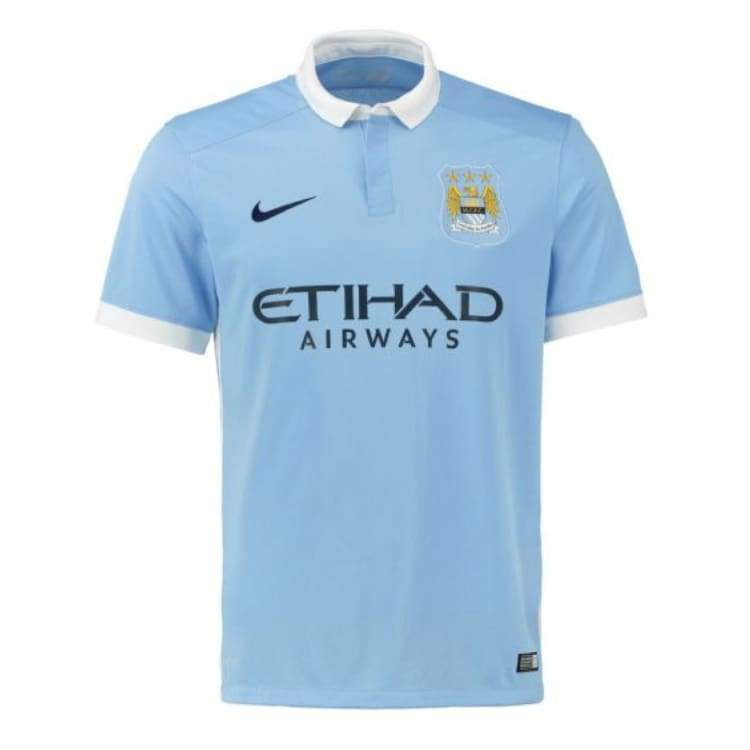 Jerseys / Soccer: Nike Manchester City 15/16 (H) S/s 658886-489 - Nike / S / Blue / 1516 Blue Clothing Football Home Kit |