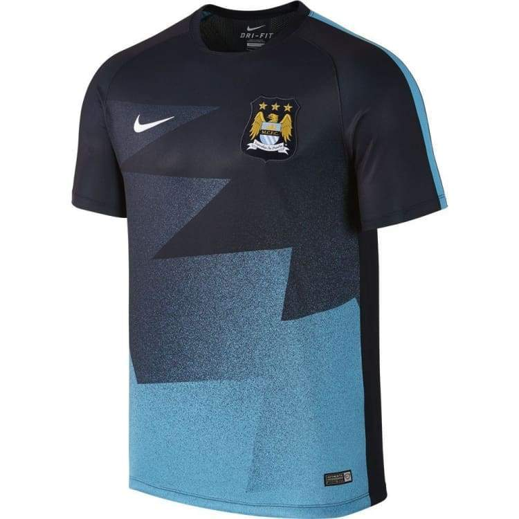 Jerseys / Soccer: Nike Manchester City 15/16 Pre-Match Training Top 688158-476 - Nike / S / Blue / 1516 Blue Clothing Football Jerseys |