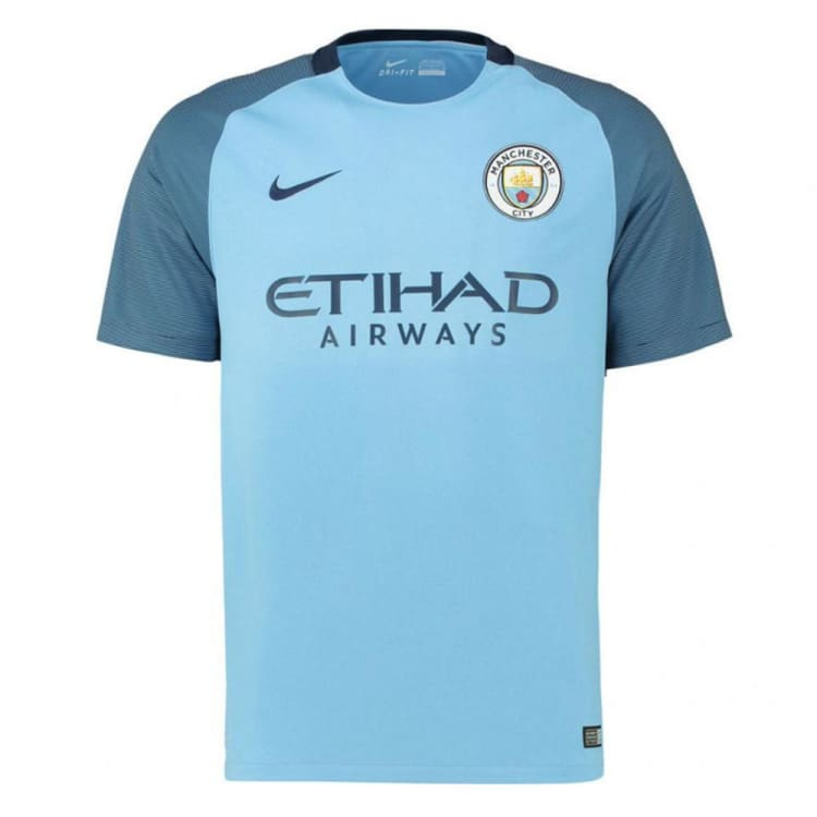 info for 9f52b c2401 Nike Manchester City 16/17 (H) S/S Youth Jersey 777059-489