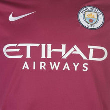 Jerseys / Soccer: Nike Manchester City 17/18 (A) S/s 847260-667 - 1718 Away Kit Clothing Football Jersey