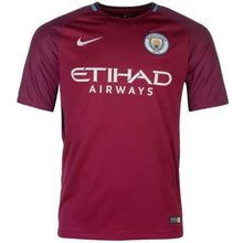 Jerseys / Soccer: Nike Manchester City 17/18 (A) S/s 847260-667 - Nike / S / Red / 1718 Away Kit Clothing Football Jersey |
