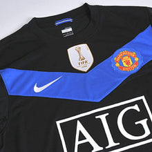 Jerseys / Soccer: Nike Manchester United 09/10 (A) S/s - 0910 Away Kit Black Clothing Football