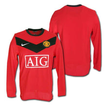 Jerseys / Soccer: Nike Manchester United 09/10 (H) L/s 355092-623 - 0910 Clothing Football Home Kit Jerseys