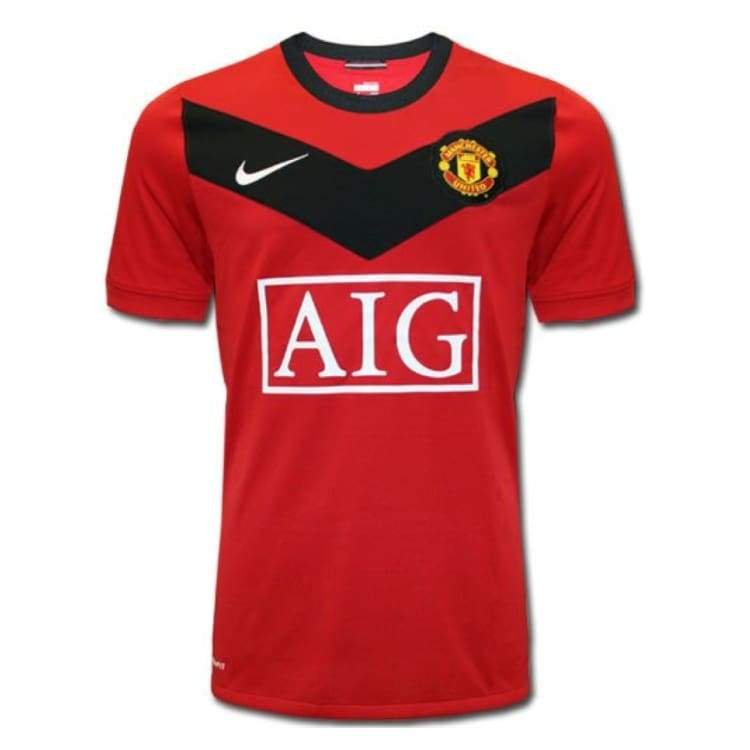 Jerseys / Soccer: Nike Manchester United 09/10 (H) S/s - Nike / M / Red / 0910 Clothing Football Home Kit Jerseys | Ochk-Sfalo-Sseng01090H-M