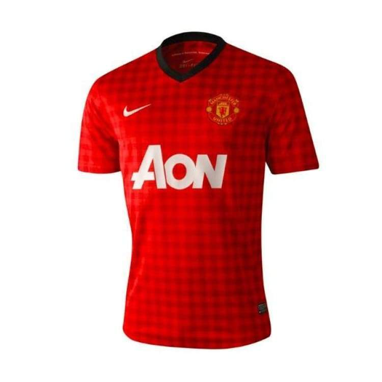Jerseys / Soccer: Nike Manchester United 12/13 (H) S/s 479278-623 - Nike / S / Red / 1213 Clothing Football Home Kit Jerseys |