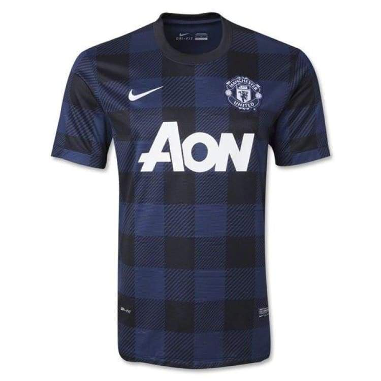 Jerseys / Soccer: Nike Manchester United 13/14 (A) S/s 532838-411 - Nike / S / Navy / 1314 Away Kit Clothing Football Jerseys |