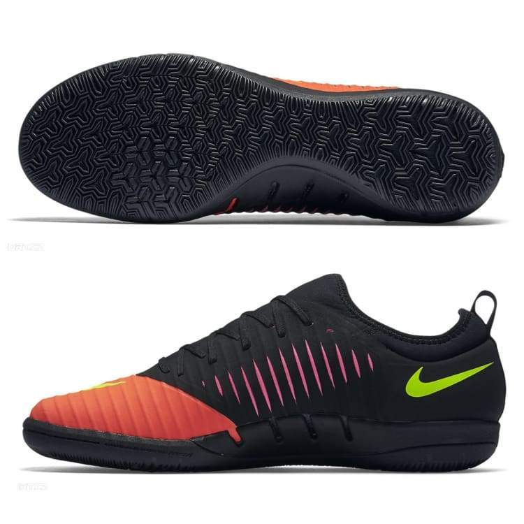 bbb6c8646 ... Shoes   Soccer  Nike Mercurialx Finale Ii Ic 831974 870 - Black red Boys  ...