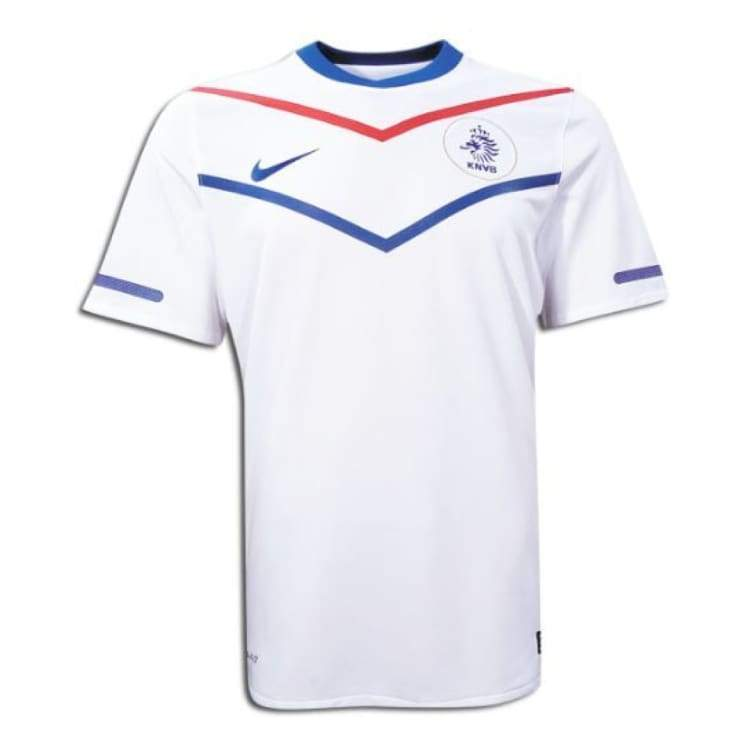 Jerseys / Soccer: Nike National Team 2010 Netherlands (A) S/s 376907-105 - L / White / Nike / 2010 2Xl Away Kit Clothing Football |