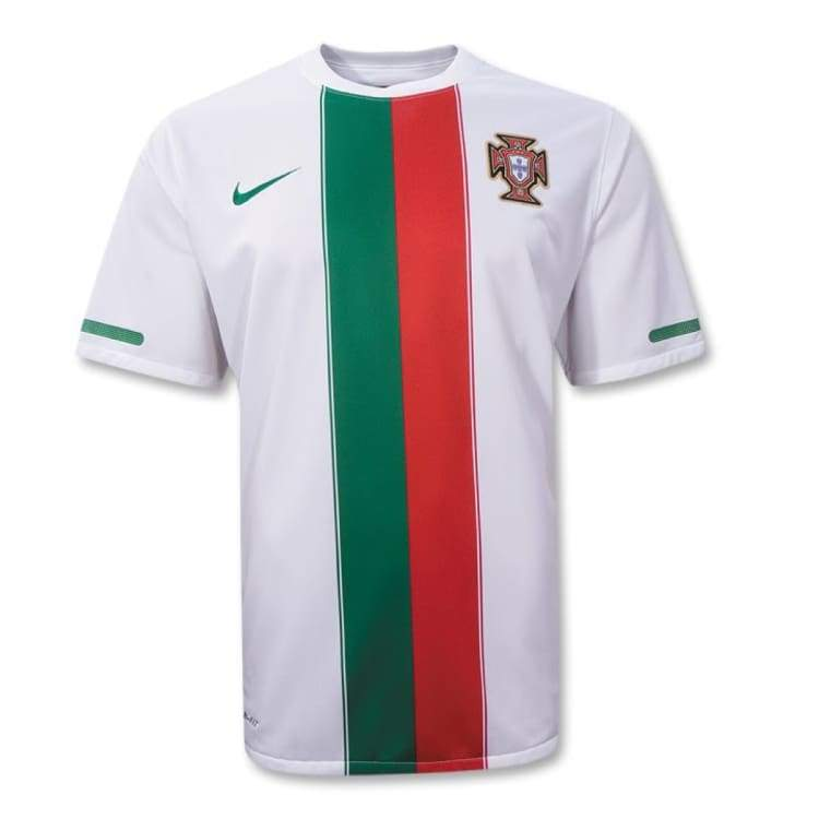 Jerseys / Soccer: Nike National Team 2010 Portugal (A) S/s 376896-105 - Nike / 2Xl / White / 2010 Away Kit Clothing Football Jerseys |