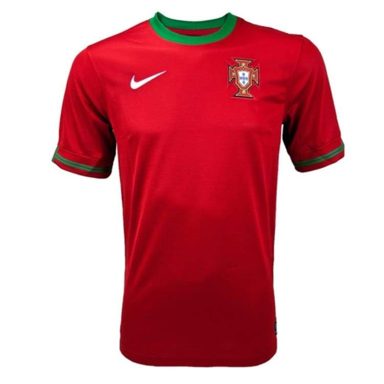 Jerseys / Soccer: Nike National Team 2012 Portugal (H) S/s 447883-638 - Nike / L / Red / 2012 Clothing Football Home Kit Jerseys |