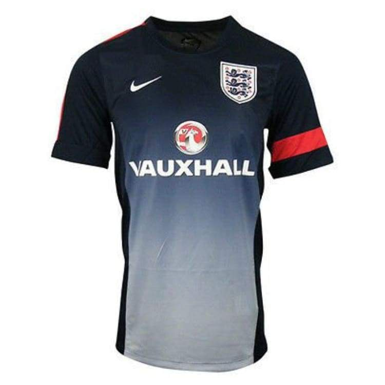 Jerseys / Soccer: Nike National Team 2013 England Training S/s 585376-452 - S / Navy / Nike / 2013 Clothing England England (World Cup)