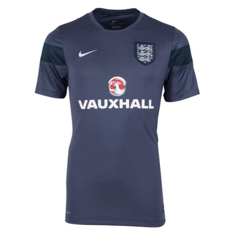 Jerseys / Soccer: Nike National Team 2014 England Training S/s 588082-431 - Nike / S / Heather Grey / 2014 Clothing England England (World