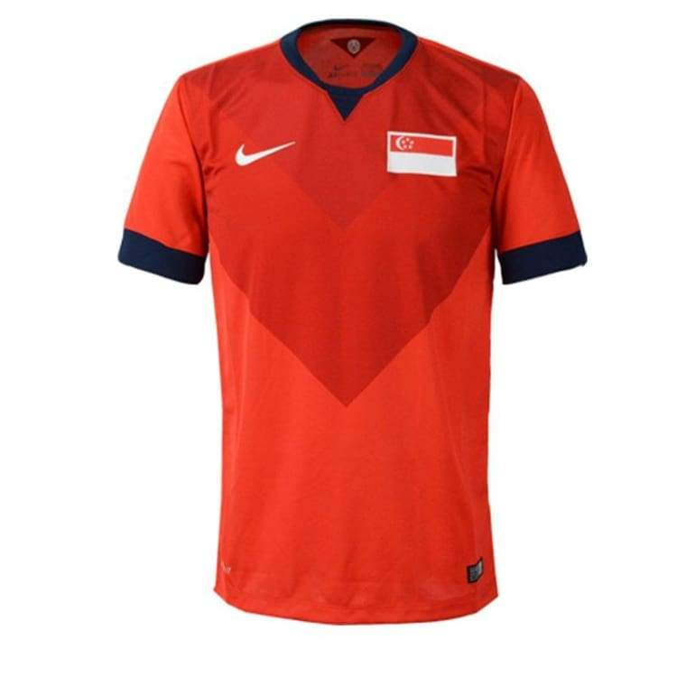 Jerseys / Soccer: Nike National Team 2014 Singapore (H) Ss 620974-600 - S / Nike / 2014 Clothing Football Home Kit Jerseys |