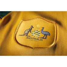 Jerseys / Soccer: Nike National Team 2014 World Cup Australia (H) S/s 578177-702 - 2014 Australia Clothing Football Home Kit