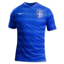 Jerseys / Soccer: Nike National Team 2014 World Cup Brazil (A) S/s 575282-493 - Nike / S / Blue / 2014 Away Kit Blue Brazil Brazil (World