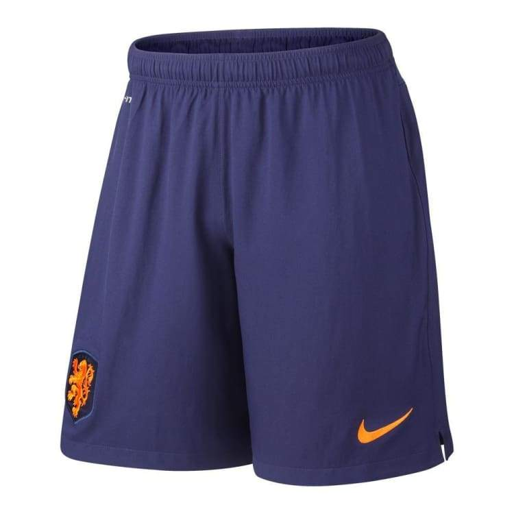 Shorts / Soccer: Nike National Team 2014 World Cup Netherlands (A) Stadium Short 577964-573 - Nike / S / Navy / 2014 Away Kit Clothing