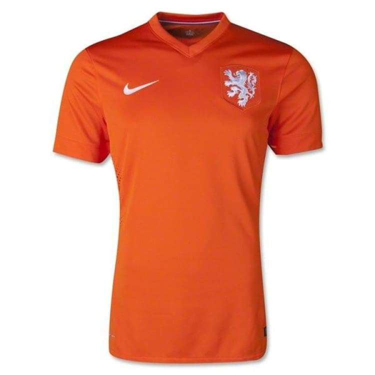 Jerseys / Soccer: Nike National Team 2014 World Cup Netherlands (H) Authentic S/s 577960-815 - Xl / Orange / Nike / 2014 Clothing Football