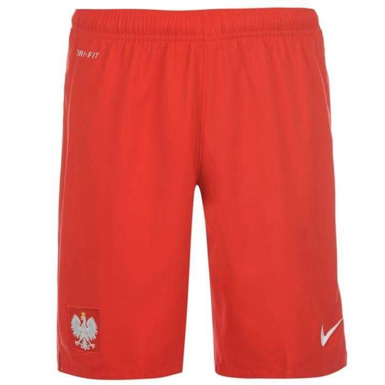 Shorts / Soccer: Nike National Team 2014 World Cup Poland (H) Shorts 578323-611 - Nike / L / Red / 2014 Clothing Football Home Kit Land |