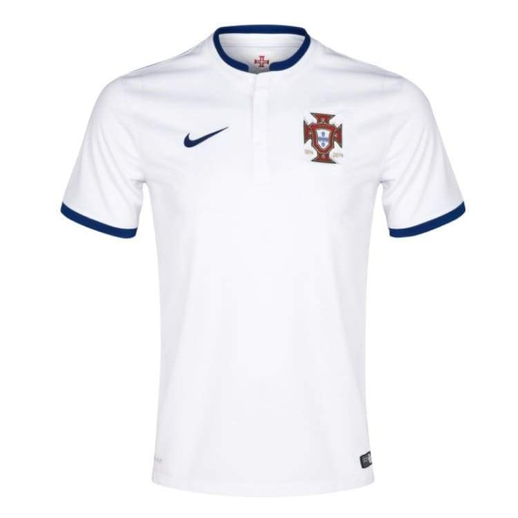 Jerseys / Soccer: Nike National Team 2014 World Cup Portugal (A) Match S/s Jersey - Nike / M / White / 2014 Away Kit Clothing Football