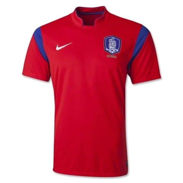 Jerseys / Soccer: Nike National Team 2014 World Cup South Korea (H) S/s 620893-604 - Nike / M / Red / 2014 Clothing Football Jerseys Jerseys